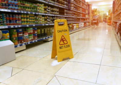 Did You Slip and Fall While Grocery Shopping?